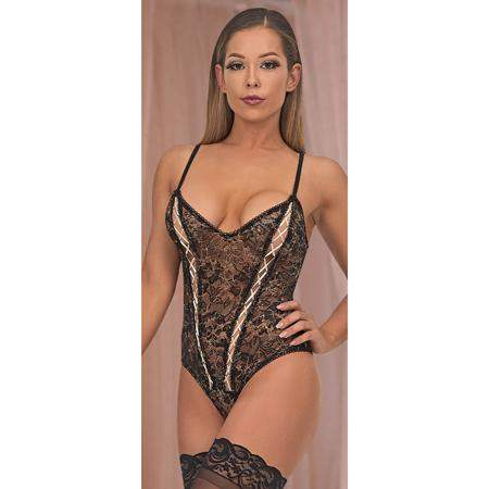 Magic Silk Bewitching Cheeky Teddy Black LX - Magic Silk - Climactic Adventures