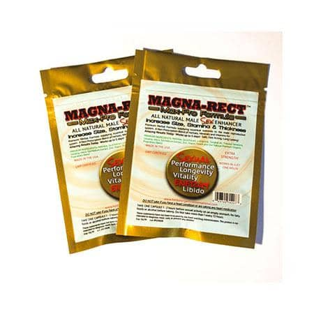Magna-Rect Gold Max-Pro Premium Formula Male Enhancer 30-Dp - Climactic Adventures