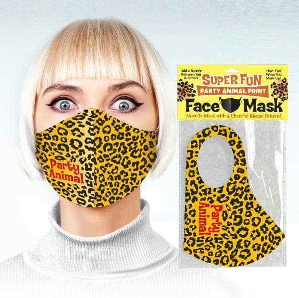 Party Animal Face Mask - Little Genie - Climactic Adventures