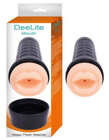 Dee Lite Mouth Magic Flesh Material Beige - Nasstoys - Climactic Adventures