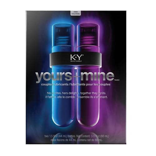 K-Y Yours and Mine Couples Lubricants - Paradise Marketing Services - Climactic Adventures