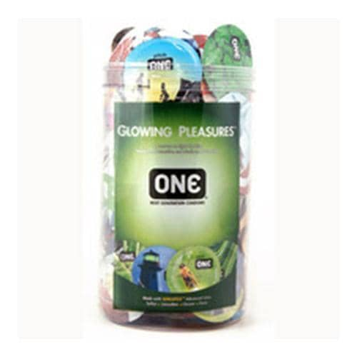 ONE Glowing Pleasure Jar (100ct) - Paradise Marketing Services - Climactic Adventures