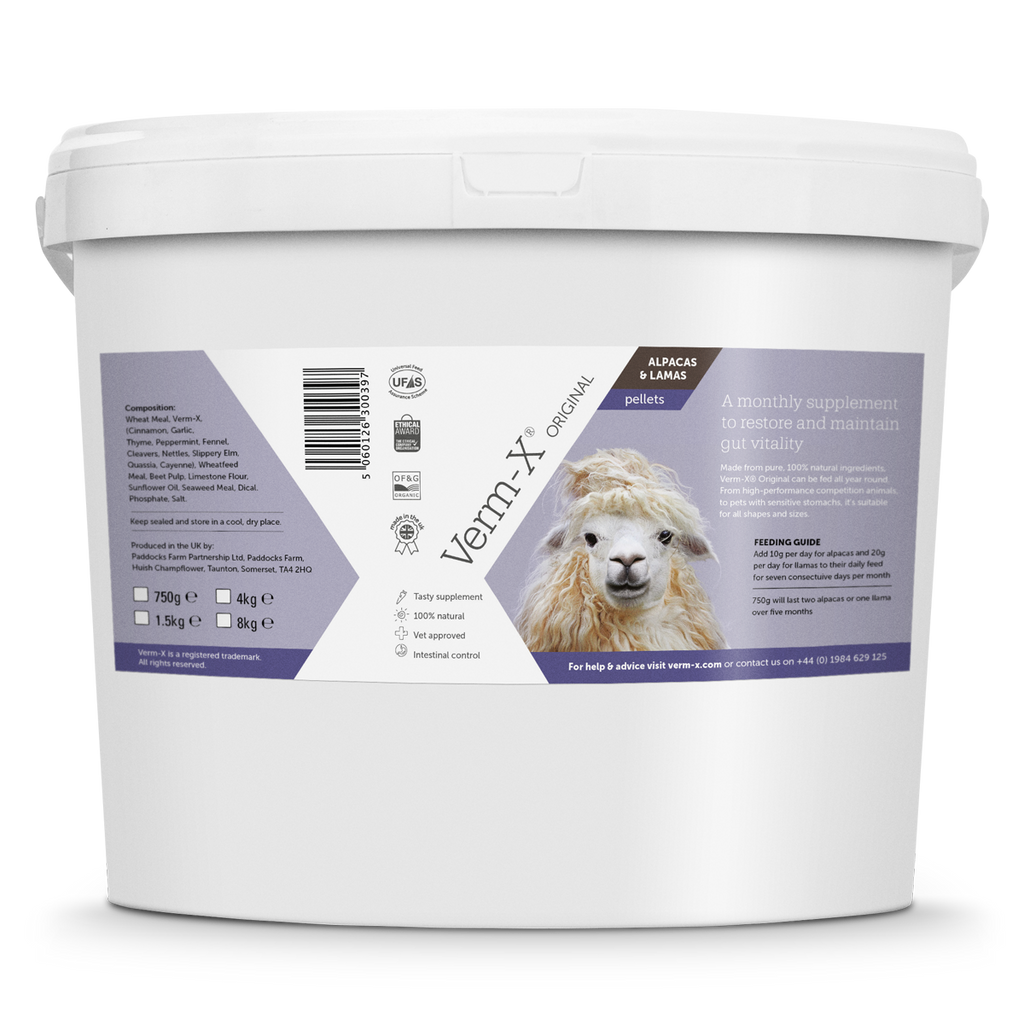 Verm-X Original Pellets for Alpacas & Llamas
