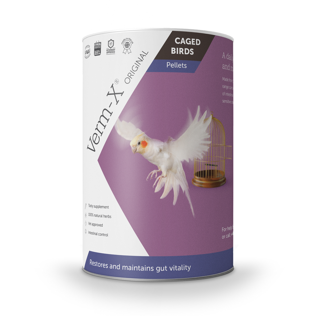 Verm-X Original Pellets for Caged Birds