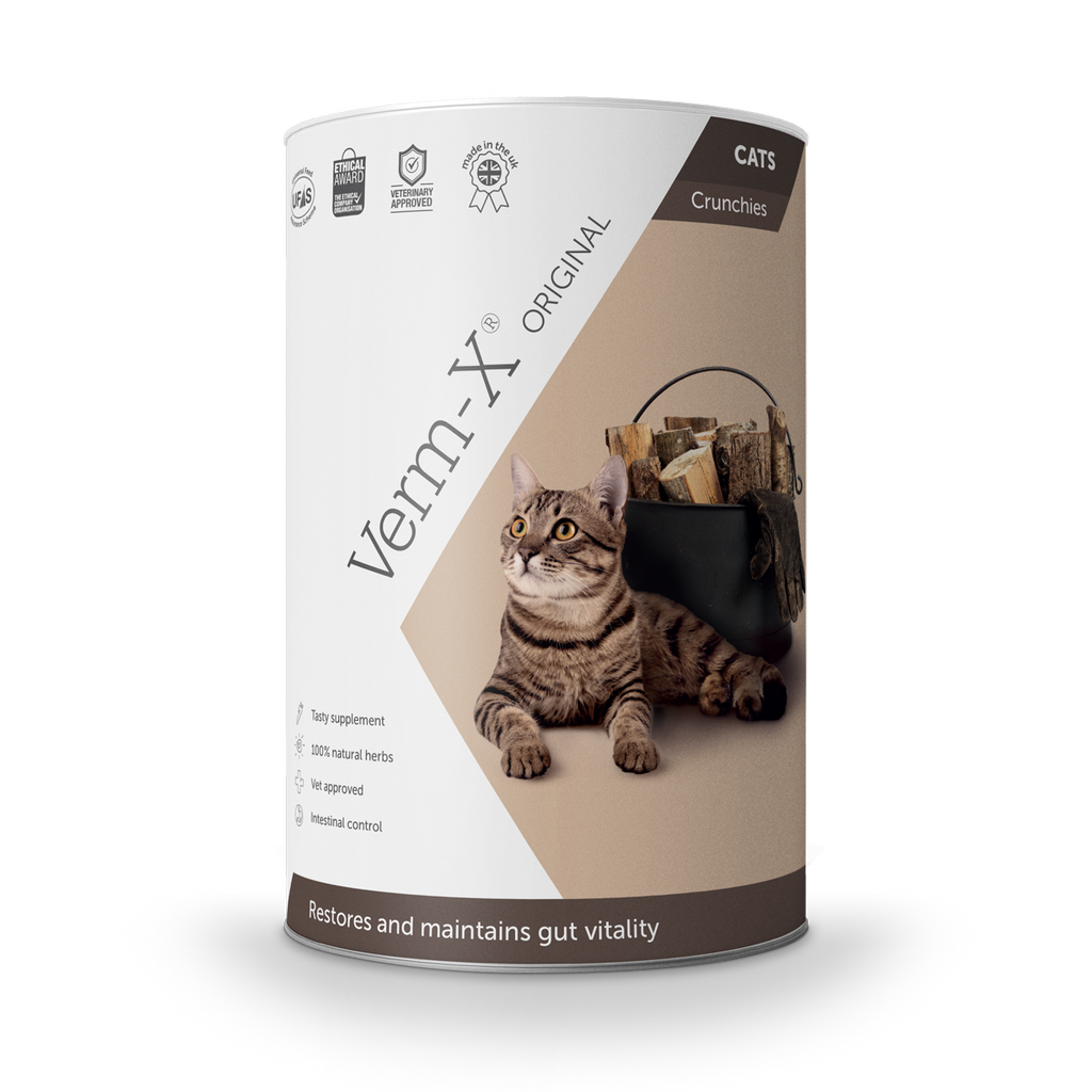 Verm-X Original Crunchies for Cats