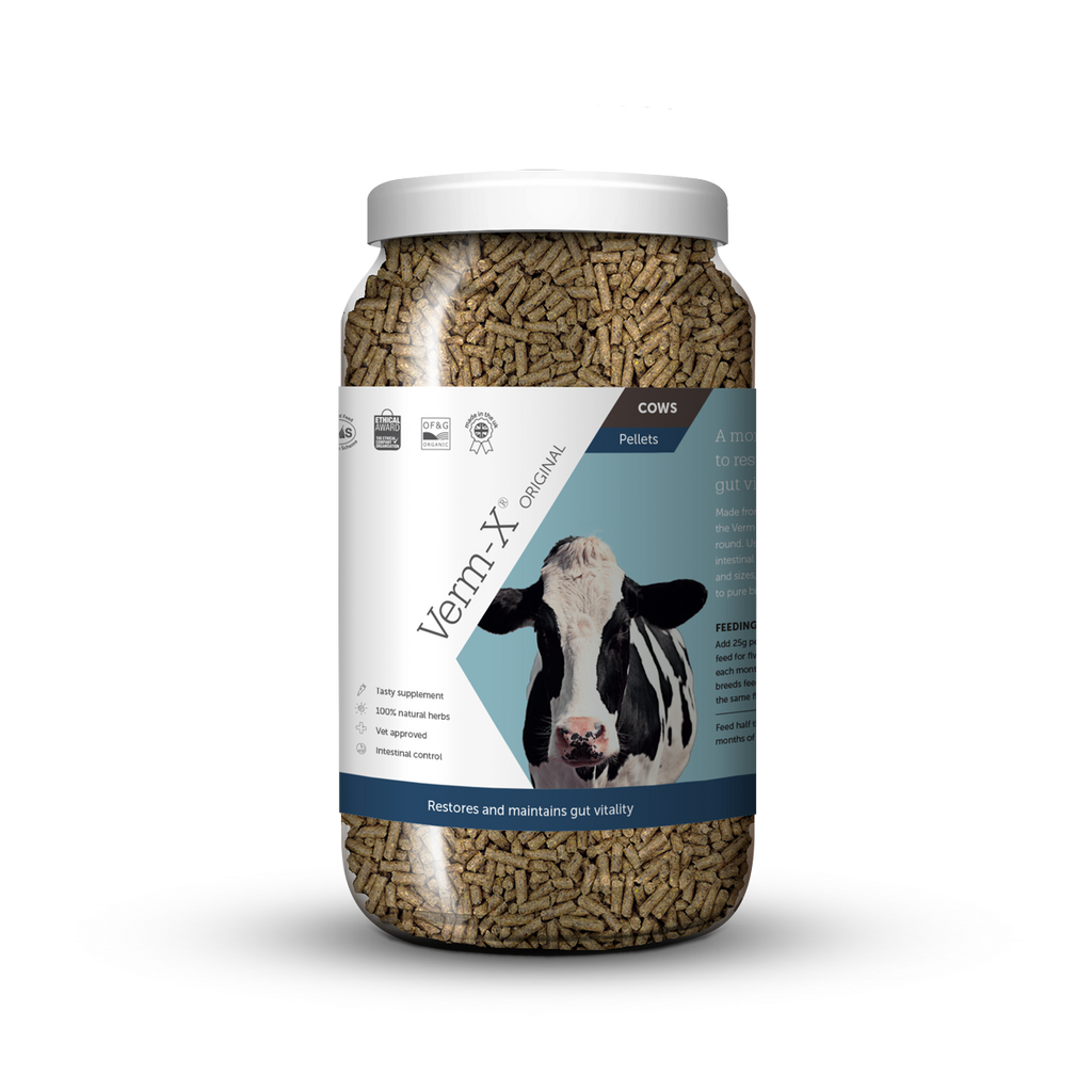 Verm-X Original Pellets for Cows