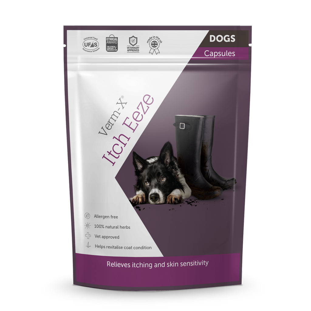 Verm-X Itch-Eeze Capsules for Dogs