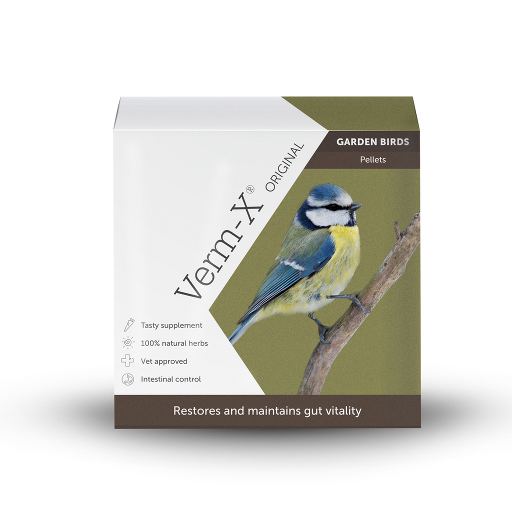 Verm-X Original Pellets for Garden Birds