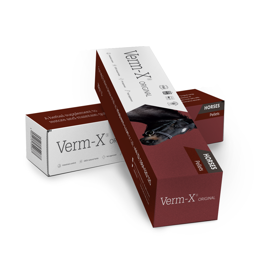 Verm-X Original Pellets for Horses