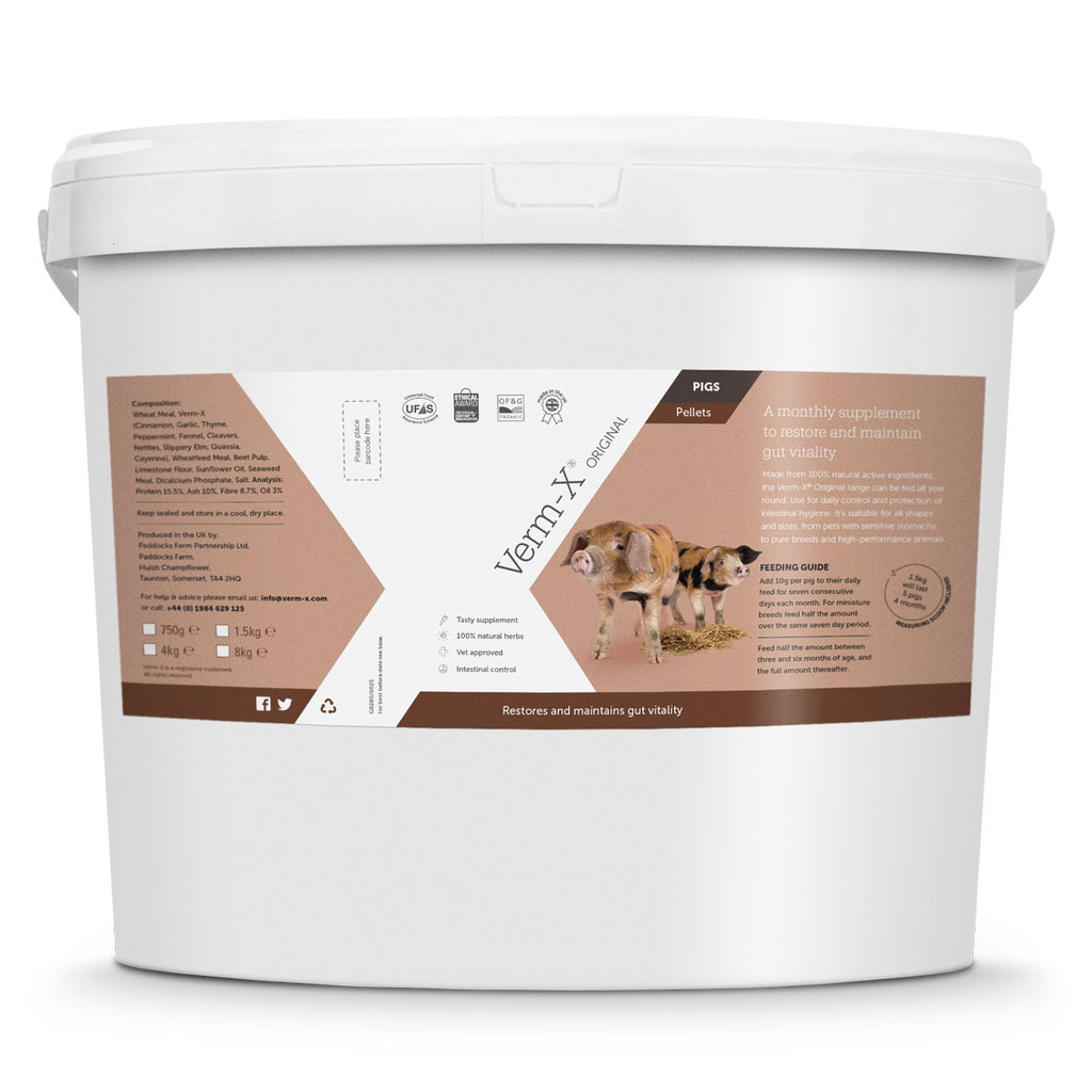 Verm-X Original Pellets for Pigs