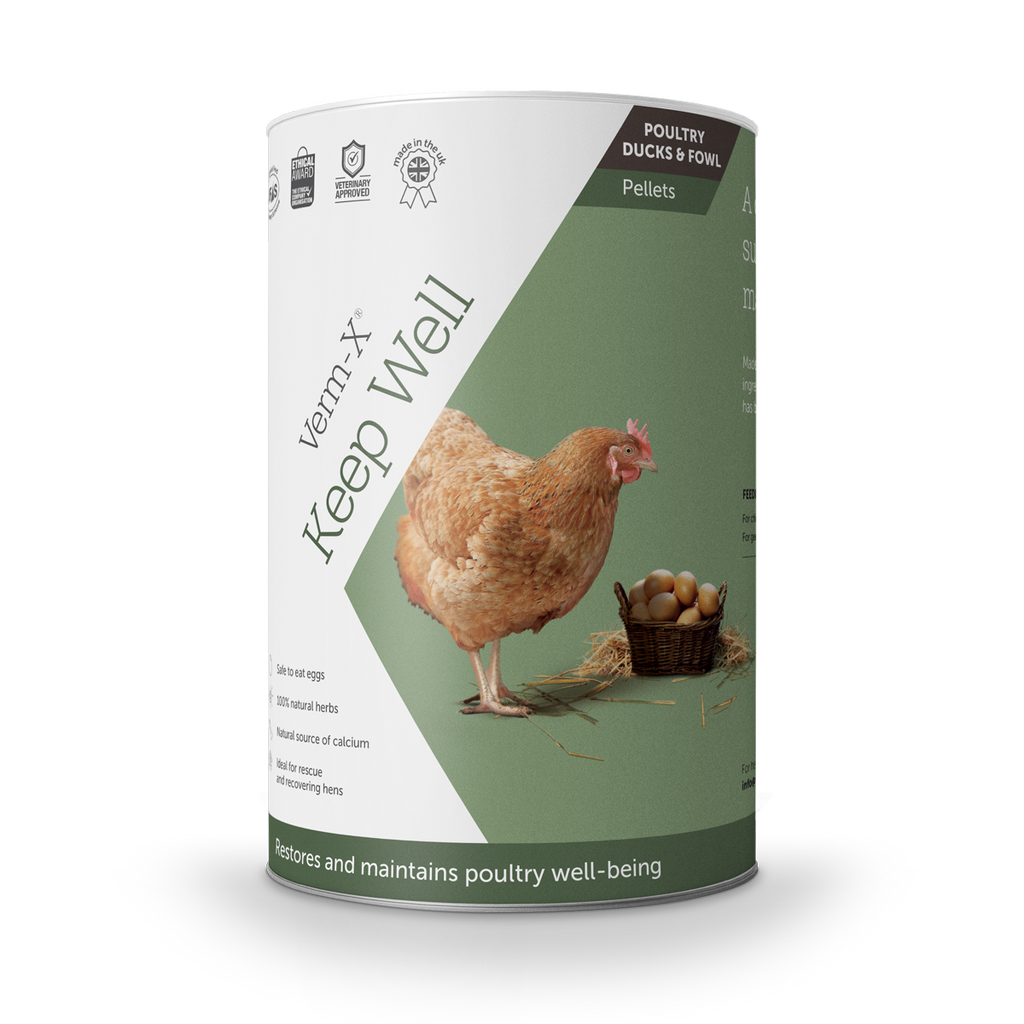 Verm-X Keep Well Pellets for Poultry, Ducks & Fowl