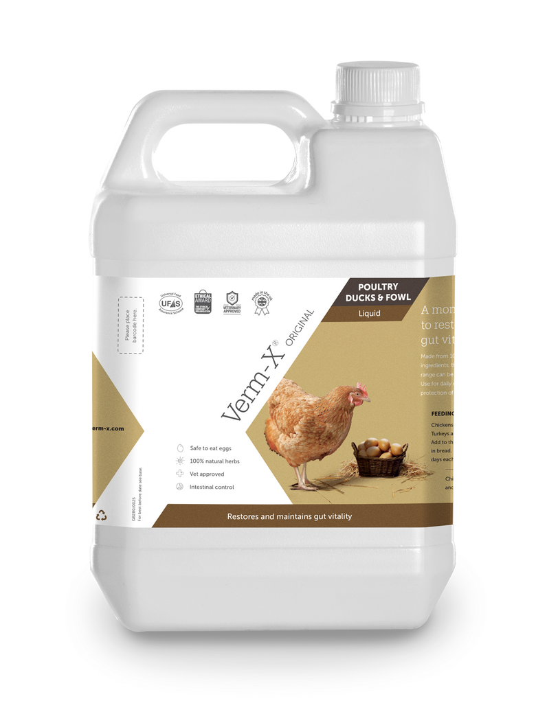 Verm-X Original Liquid for Poultry, Ducks and Fowl