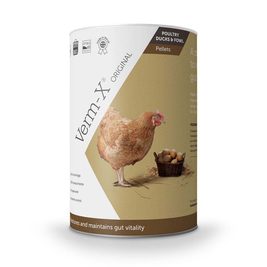 Verm-X Original Pellets for Poultry, Ducks and Fowl