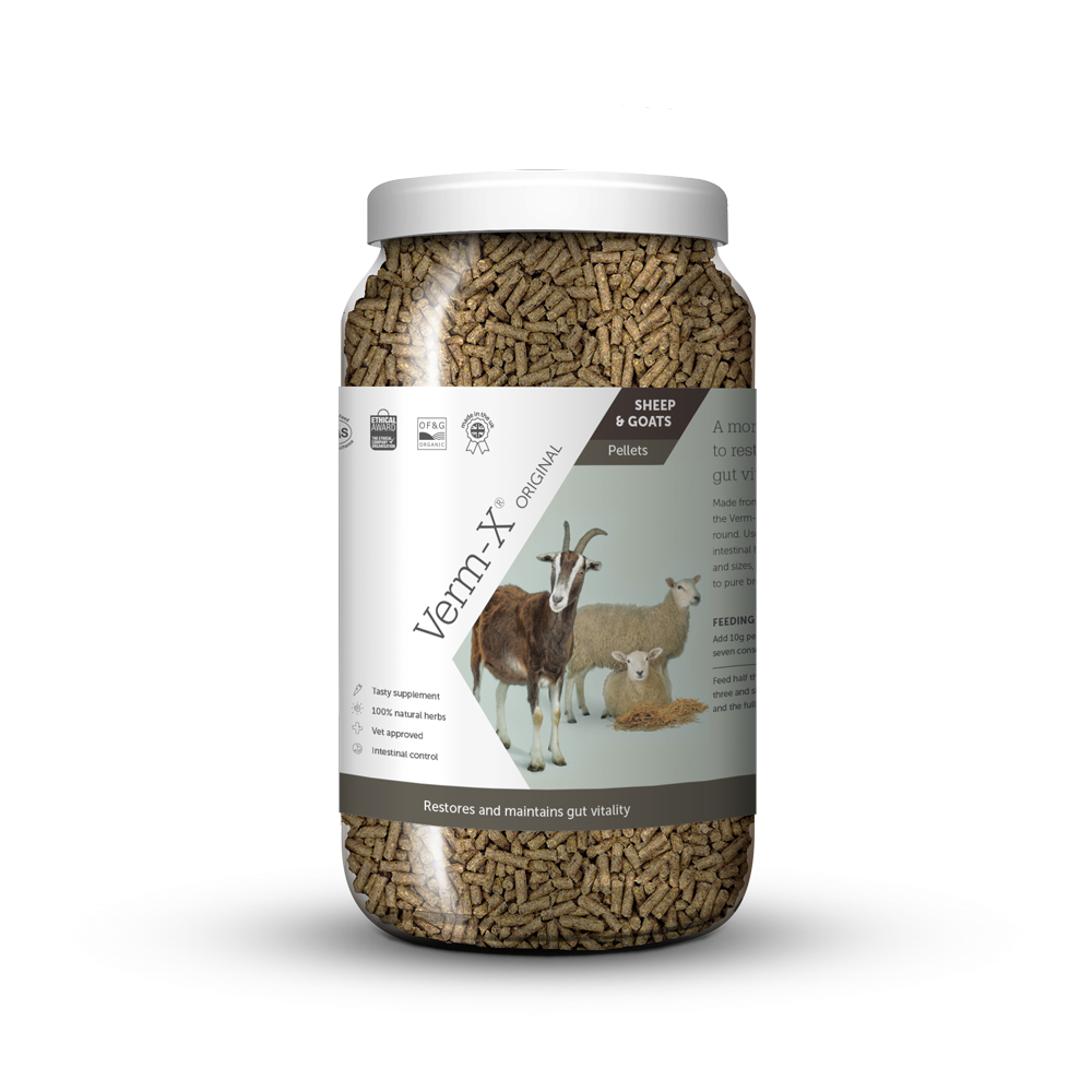 Verm-X Original Pellets for Sheep & Goats