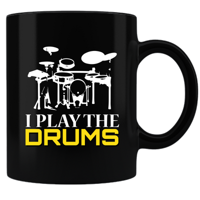 I Play The Drums-Mug