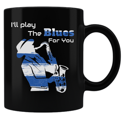 Blues-Blue - Mug
