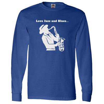 Love Jazz and Blues-White - LS