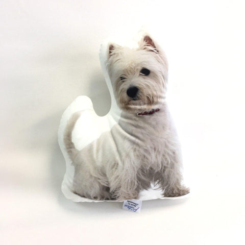 West Highland White Terrier Pillow Toy