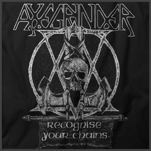 Axegrinder: Recognise Your Chains Print Detail