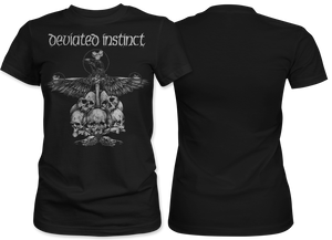 Deviated Instinct: Crow Women's Tee