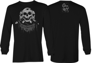Discharge: Classic Skulls Long Sleeve