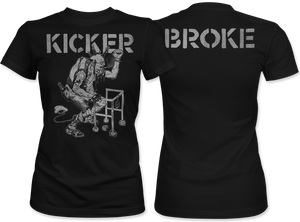 Kicker: Broke Women's Tee