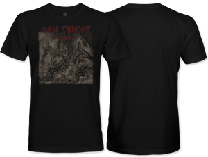 Saw Throat: Indestroy T-Shirt