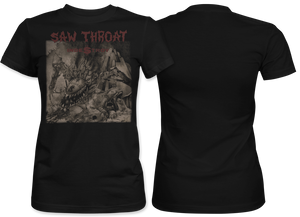 Saw Throat: Indestroy Women's tee