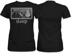 Sleep: Jerusalem (Black) Women's Tee