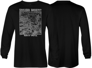 Civilised Society: Scrap Metal Long Sleeve
