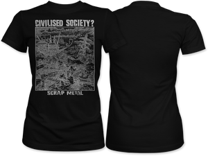 Civilised Society: Scrap Metal Women's Tee