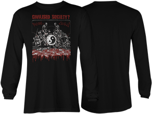 Civilised Society: Violence Sucks Long Sleeve