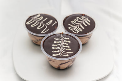 Chocolate Biscuit Pudding Cup