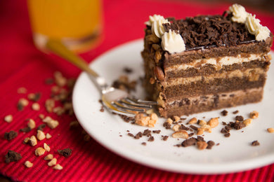 Chocolate Club Gateau Slice - Divine Cakes