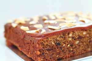Date Cake with Butterscotch Topping - Divine Cakes