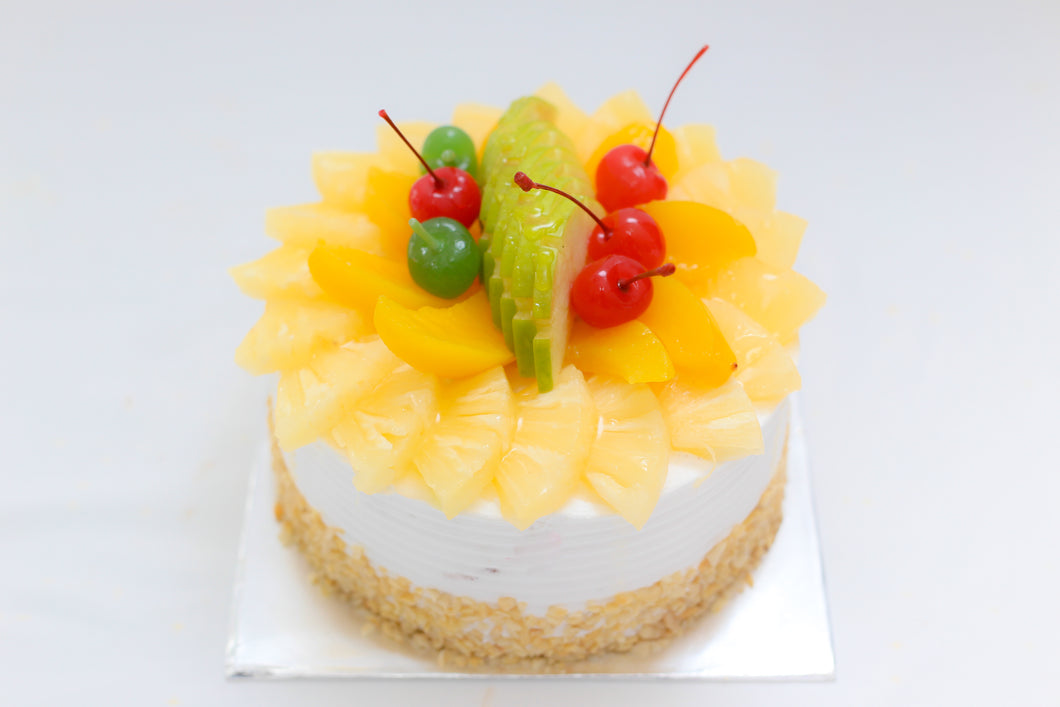 Mixed Fruit Gateau - Divine Cakes