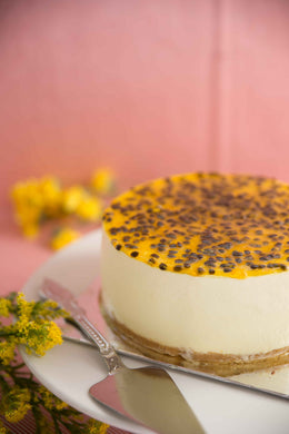 Passion Fruit Bavarian - Divine Cakes