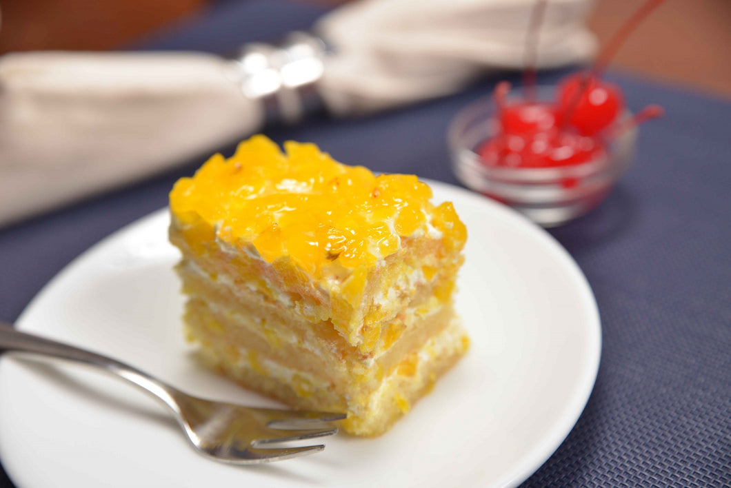 Pineapple Gateau Slice