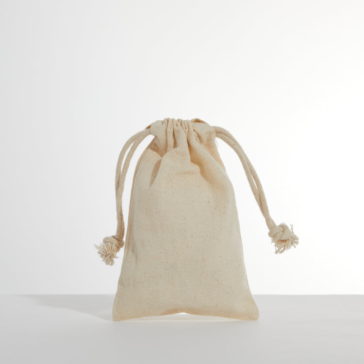 Small Cotton Drawstring - Printed One Colour