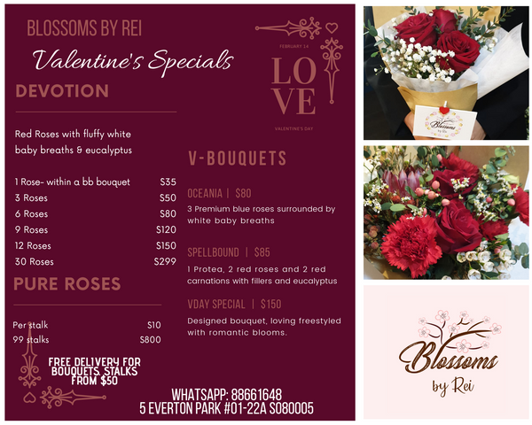 Preordering Valentine's Day Flowers!