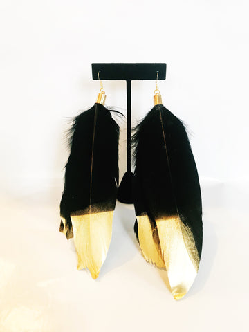 Gold Tip Feathers
