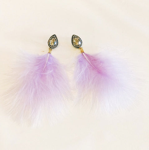 The GiGi Feather Earring