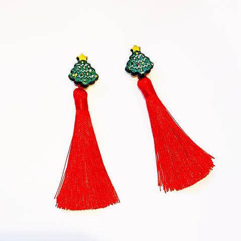 Rockin' Around the Christmas Tree Earrings