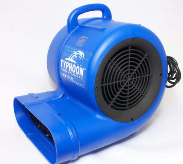 Typhoon Hi-Velocity Air Blower (Floor Dryer), GFCI Protected, 3 Speeds, 25ft Power Cord