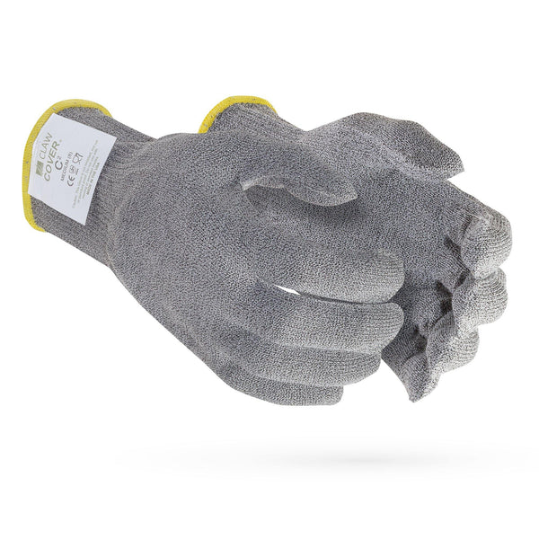 C2 Claw Cover-13 Gauge Grey ANSI Cut Level 5 Glove - Sizes XS-XL