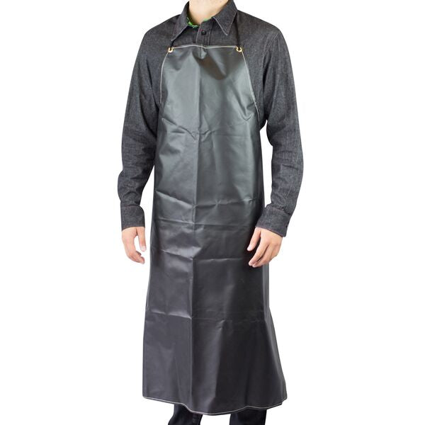 Black Rubber Apron Heavy Weight 35
