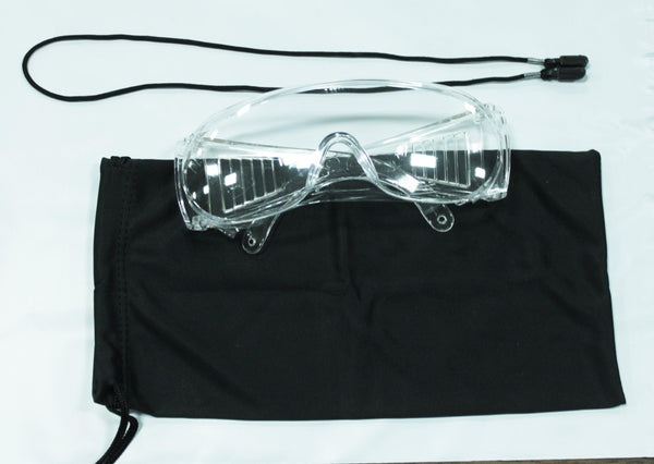 Safety Glasses Kit with Cord & Case
