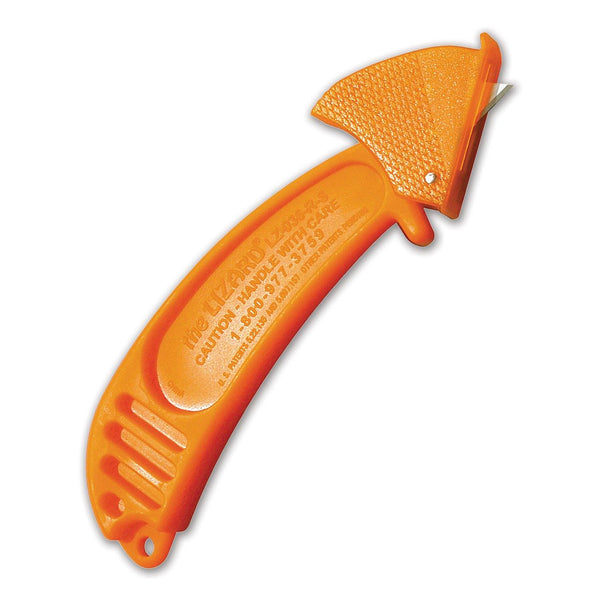 Lizard Safety Box Knife - 6/pack, FDA Approved, Food Service Safety