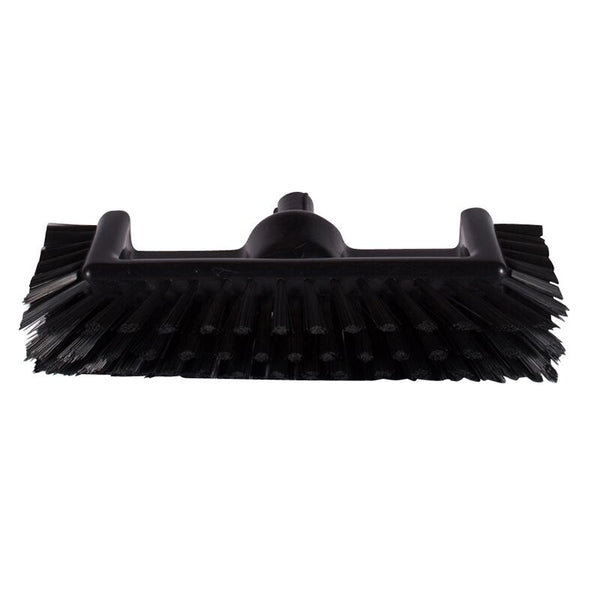 Black Deck Brush, Polypropylene Bristles, Food Safe, Sold By Each