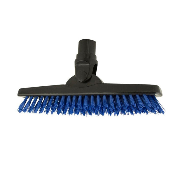 Grout Brush Blue, Polypropylene Body, Swivel Action Head, Food Safe